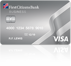 First Citizens Bank Business Visa card